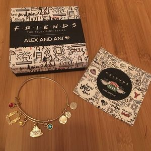 Alex and Ani - Friends Frame & Coffee Mug Bangle